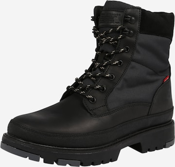 LEVI'S Lace-up boot 'Torsten' in Black