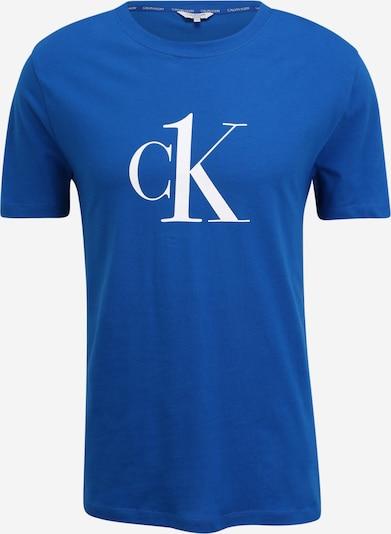 Calvin Klein Swimwear Tílko - modrá / bílá, Produkt
