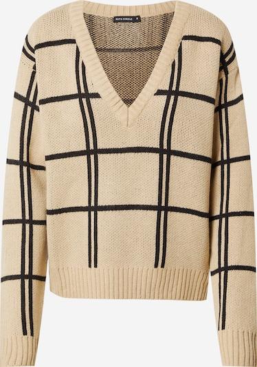 Rut & Circle Pullover 'MAIA' in beige / schwarz, Produktansicht