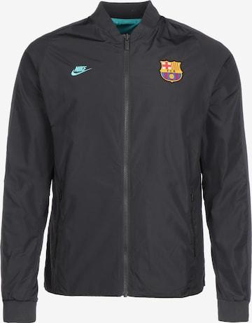 Veste de sport 'FC Barcelona' NIKE en noir