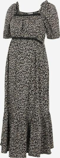 MAMALICIOUS Kleid 'Kena' in creme / schwarz, Produktansicht
