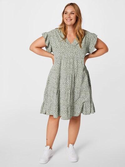Rochie 'Jolene' Z-One pe kaki / alb, Vizualizare model
