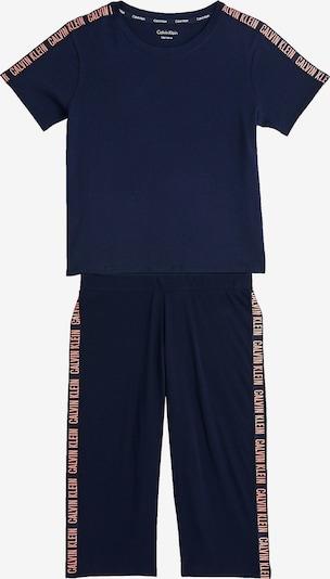 Calvin Klein Underwear Schlafanzug 'Intense Power' in navy / pastellpink, Produktansicht