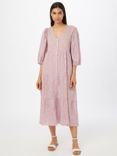 Cotton On Košilové šaty 'KAIA' - azurová / šedá / bledě fialová / růžová, Model/ka