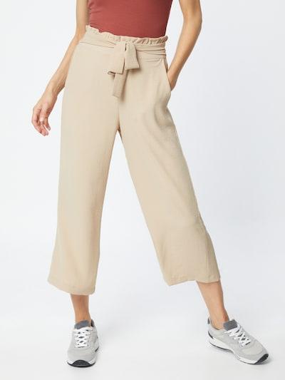 VILA Pantalon 'RASHA' en poudre, Vue avec modèle
