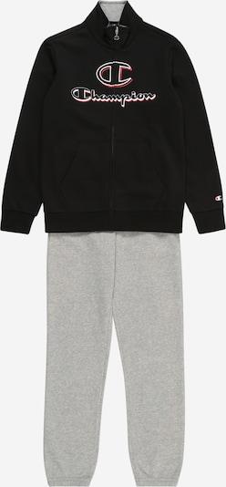 Champion Authentic Athletic Apparel Jogginganzug in grau / schwarz, Produktansicht