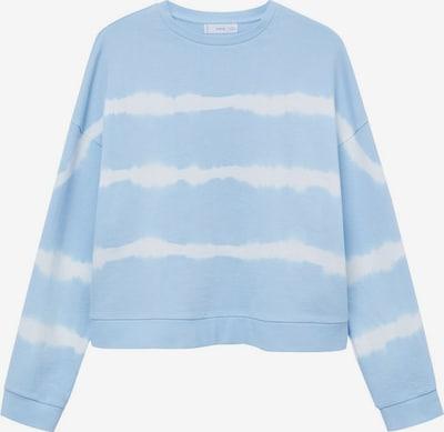 MANGO KIDS Sweater majica 'Penyt' u svijetloplava / bijela, Pregled proizvoda