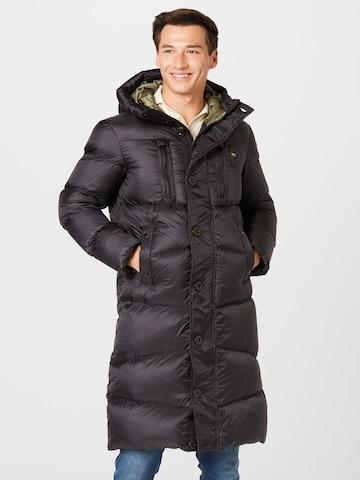 Palton de iarnă de la Blauer.USA pe negru