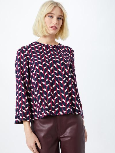 Bluză 'Roccia' MAX&Co. pe marine / roșu / alb, Vizualizare model