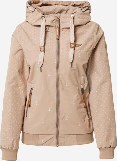 Ragwear Jacke in altrosa / weiß, Produktansicht
