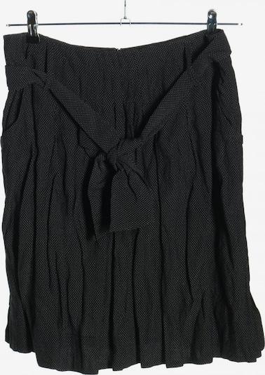 NoBasics Faltenrock in L in schwarz / weiß, Produktansicht