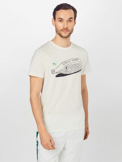 Picture Organic Clothing Funkcionalna majica 'COWAB' | črna / bela barva: Frontalni pogled