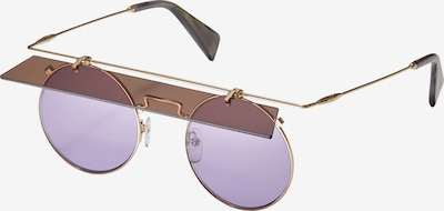 Yohji Yamamoto Eyewear Sonnenbrille 'YY7037-697' in gold, Produktansicht