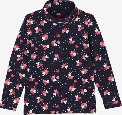 s.Oliver Shirt in blau / rosa / rot / weiß, Produktansicht