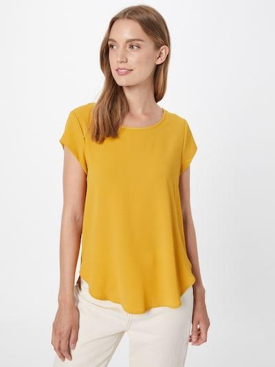Bluză 'VIC' ONLY pe galben curry, Vizualizare model
