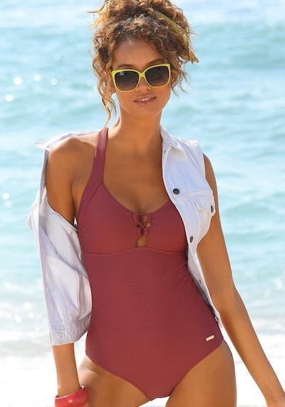 SUNSEEKER Badeanzug in rot, Modelansicht