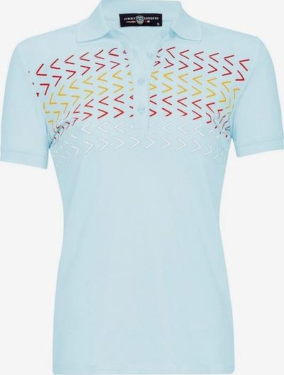 Jimmy Sanders Shirt 'Susanna' in hellblau / gelb / rot, Produktansicht