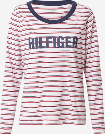 Tommy Hilfiger Underwear Majica za spanje | rdeča / bela barva, Prikaz izdelka