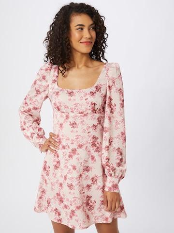 NA-KD Kleid in Pink