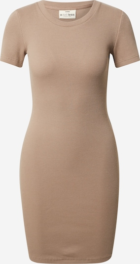 A LOT LESS Kleid 'Flora' in taupe, Produktansicht