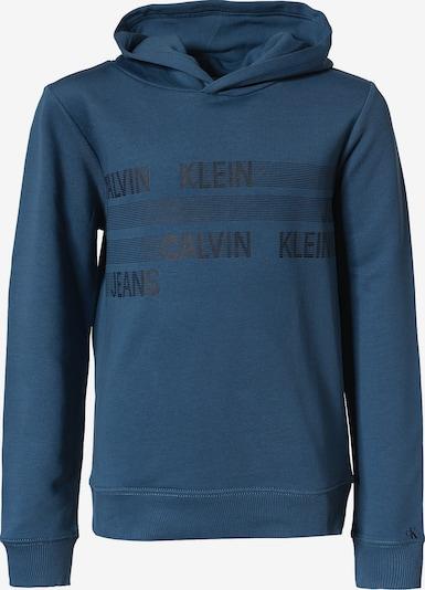 Calvin Klein Jeans Sweatshirt 'DIMENSION' in Dark blue / Black, Item view