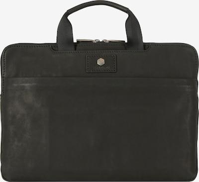 Jekyll & Hide Sac d'ordinateur portable 'Montana' en noir, Vue avec produit