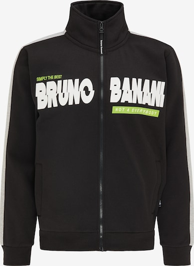 BRUNO BANANI Sweatvest in de kleur Zwart / Wit, Productweergave