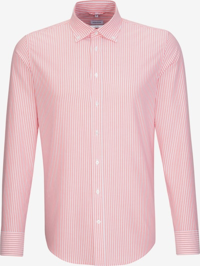 SEIDENSTICKER Business Hemd ' Shaped ' in rot, Produktansicht