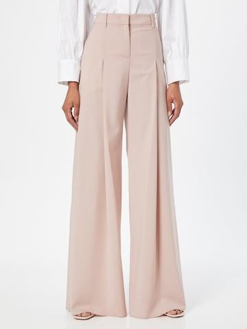MAX&Co. Παντελόνι πλισέ 'CINCIN' σε ροζ