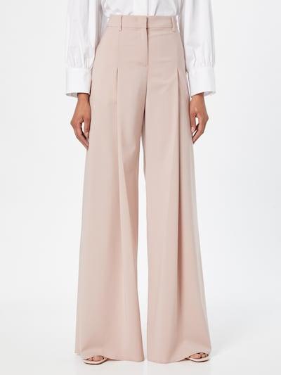 MAX&Co. Kalhoty se sklady v pase 'CINCIN' - světle růžová, Model/ka