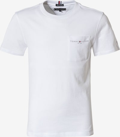 TOMMY HILFIGER Tričko - námornícka modrá / červená / biela, Produkt