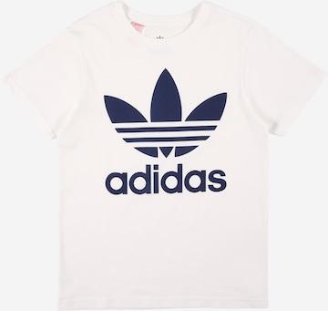 ADIDAS ORIGINALS Shirt 'TREFOIL' in White