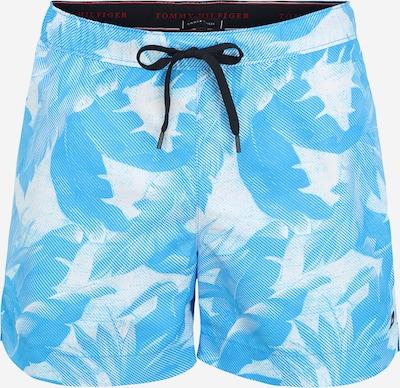 Tommy Hilfiger Underwear Kupaće hlače u svijetloplava / bijela, Pregled proizvoda