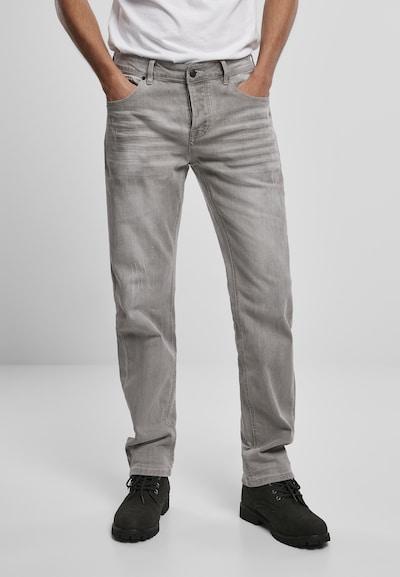Brandit Jeans in de kleur Grijs, Modelweergave
