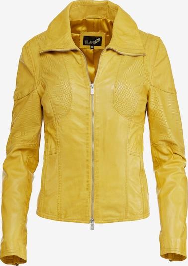 Jilani Lederjacke 'HENNA' in gelb, Produktansicht