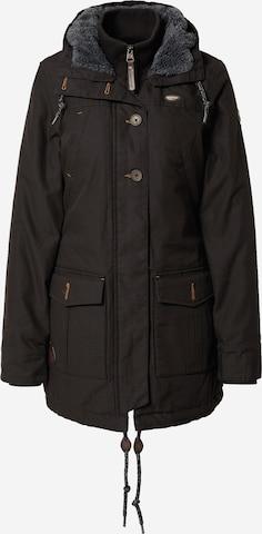 Ragwear Between-Seasons Parka 'JANE' in Black