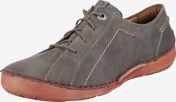 JOSEF SEIBEL Lace-Up Shoes 'Fergey' in Grey