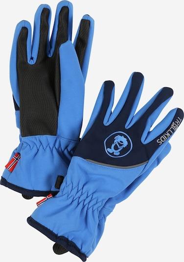 TROLLKIDS Handschuhe ' Trolltunga ' in blau / navy, Produktansicht