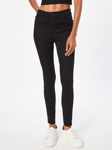 ABOUT YOU Jeans 'Tela' in Zwart