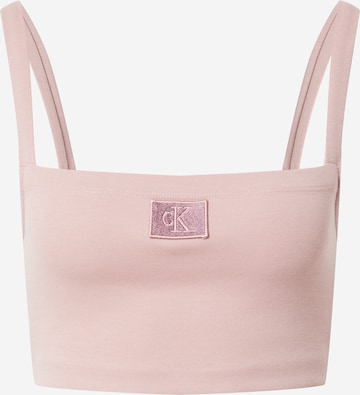 Calvin Klein Jeans Top 'MILANO' in Pink