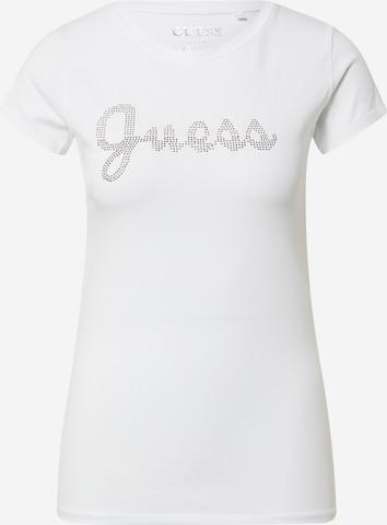 GUESS Μπλουζάκι σε λευκό