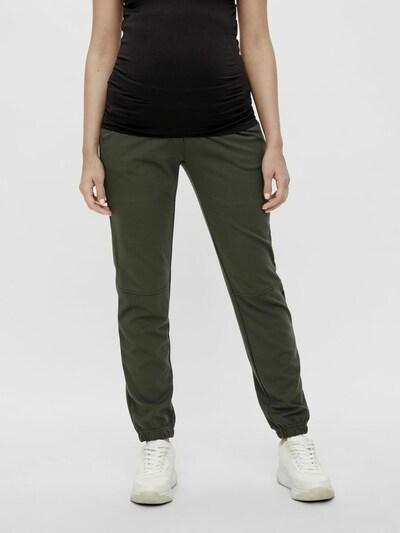 MAMALICIOUS Hose in dunkelgrün, Modelansicht