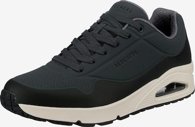 SKECHERS Sneaker in dunkelgrau / schwarz, Produktansicht