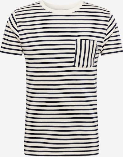 Tricou 'CADEN' Wemoto pe albastru noapte / alb, Vizualizare produs