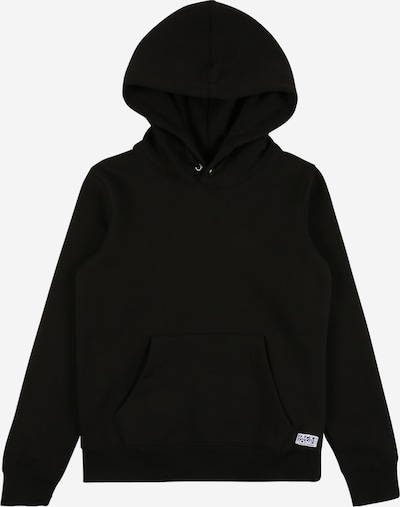 Jack & Jones Junior Hoodie in schwarz, Produktansicht