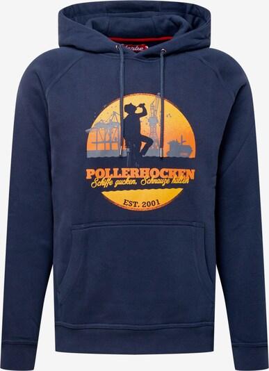 Derbe Bluzka sportowa 'POLLERHOCKEN' w kolorze granatowy / żółty / pomarańczowym, Podgląd produktu