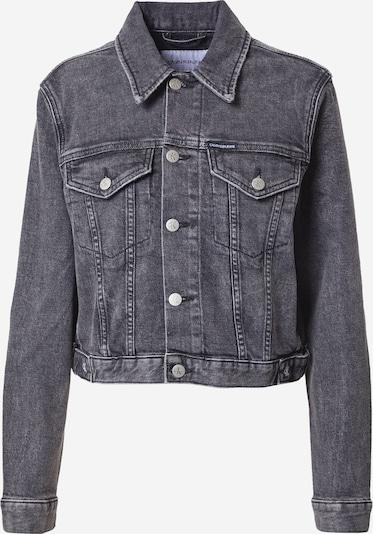 Giacca di mezza stagione Calvin Klein Jeans di colore grigio denim, Visualizzazione prodotti