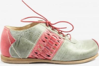 ROVERS Schnürsneaker in 36 in hellgrau / pink, Produktansicht