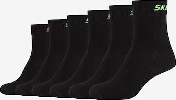 SKECHERS Socken 'Mesh Ventilation' in Schwarz
