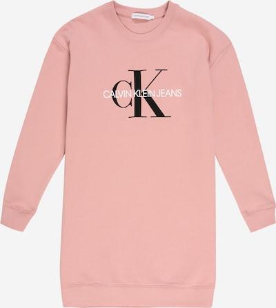 Calvin Klein Jeans Sukienka w kolorze stary róż / czarny / białym, Podgląd produktu